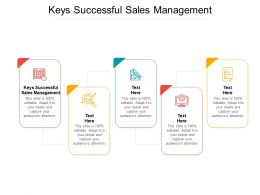 Keys Successful Sales Management Ppt Powerpoint Presentation Portfolio Inspiration Cpb