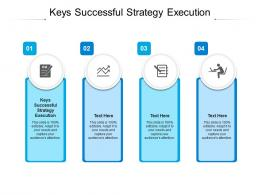 Keys Successful Strategy Execution Ppt Powerpoint Presentation Model Example File Cpb