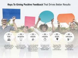 Keys To Giving Positive Feedback That Drives Better Results