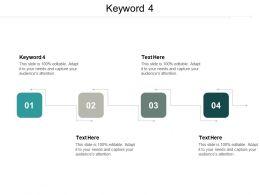 Keyword 4 Ppt Powerpoint Presentation Gallery Templates Cpb