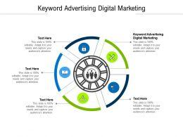 Keyword Advertising Digital Marketing Ppt Powerpoint Presentation Professional Background Cpb