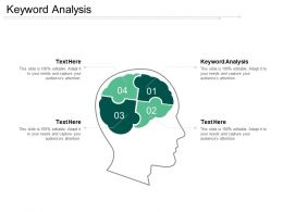 Keyword Analysis Ppt Powerpoint Presentation Gallery Demonstration Cpb