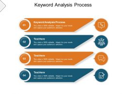 Keyword Analysis Process Ppt Powerpoint Presentation Infographic Cpb