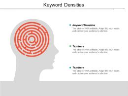 Keyword Densities Ppt Powerpoint Presentation Pictures Format Cpb