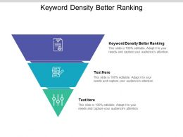 Keyword Density Better Ranking Ppt Powerpoint Presentation Styles Clipart Cpb
