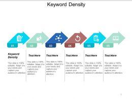 Keyword Density Ppt Powerpoint Presentation Outline Format Ideas Cpb