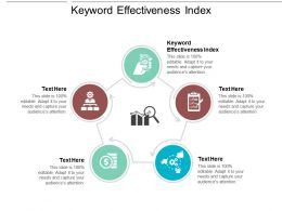 Keyword Effectiveness Index Ppt Powerpoint Presentation Model Cpb