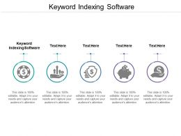 Keyword Indexing Software Ppt Powerpoint Presentation Gallery Aids Cpb
