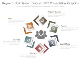 Keyword Optimization Diagram Ppt Presentation Graphics