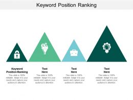 Keyword Position Ranking Ppt Powerpoint Presentation File Shapes Cpb