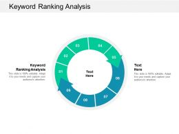 Keyword Ranking Analysis Ppt Powerpoint Presentation Infographic Template Objects Cpb