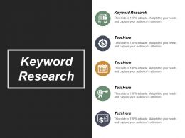 Keyword Research Ppt Powerpoint Presentation File Background Images Cpb