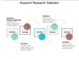 Keyword Research Selection Ppt Powerpoint Presentation Infographics Cpb