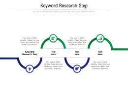 Keyword Research Step Ppt Powerpoint Presentation Layouts Graphics Cpb