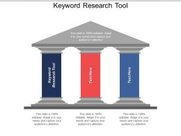 Keyword Research Tool Ppt Powerpoint Presentation Layouts Graphics Tutorials Cpb