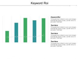 Keyword Roi Ppt Powerpoint Presentation Gallery Brochure Cpb