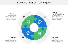 Keyword Search Techniques Ppt Powerpoint Presentation File Graphics Cpb