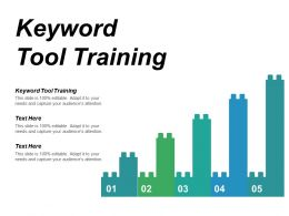 Keyword Tool Training Ppt Powerpoint Presentation Pictures Graphic Tips Cpb