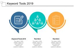 Keyword Tools 2019 Ppt Powerpoint Presentation Infographics Format Cpb