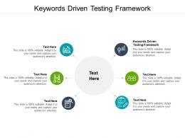 Keywords Driven Testing Framework Ppt Powerpoint Presentation Designs Cpb