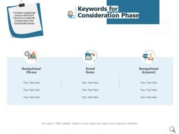 Keywords For Consideration Phase Location Ppt Powerpoint Presentation Gallery Structure