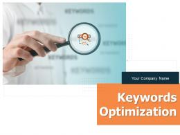 Keywords Optimization Powerpoint Presentation Slides
