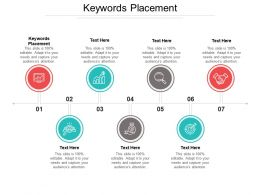 Keywords Placement Ppt Powerpoint Presentation File Graphics Example Cpb