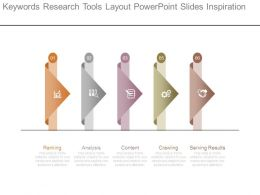 Keywords Research Tools Layout Powerpoint Slides Inspiration