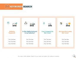 Keywords Search Server Ppt Powerpoint Presentation Gallery Vector