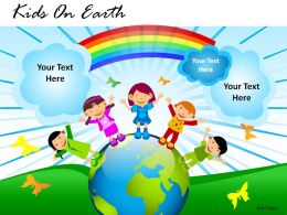 kids_on_earth_powerpoint_presentation_slides_Slide01