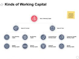 Kinds Of Working Capital Ppt Powerpoint Presentation Styles Shapes