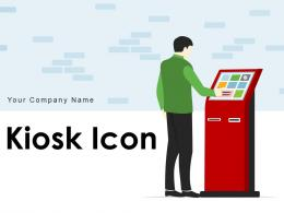 Kiosk Icon Organizational Transactions Individual Interactive Newspapers