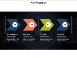 Km Research Ppt Powerpoint Presentation Gallery Example Introduction Cpb