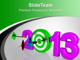 knock_out_new_year_target_powerpoint_templates_ppt_backgrounds_for_slides_0113_Slide01