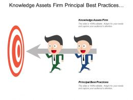 Knowledge Assets Firm Principal Best Practices Draft Approved