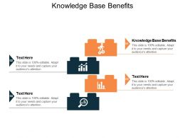 Knowledge Base Benefits Ppt Powerpoint Presentation Slides Layout Cpb