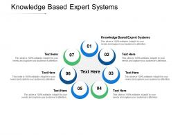 Knowledge Based Expert Systems Ppt Powerpoint Presentation Inspiration Picture Cpb