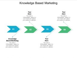 Knowledge Based Marketing Ppt Powerpoint Presentation Styles Infographic Template Cpb