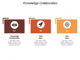 Knowledge Collaboration Ppt Powerpoint Presentation Icon Background Images Cpb