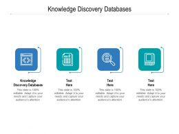 Knowledge Discovery Databases Ppt Powerpoint Presentation Portrait Cpb