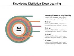 Knowledge Distillation Deep Learning Ppt Powerpoint Presentation Icon Portrait Cpb