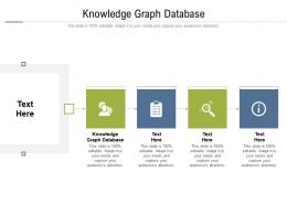 Knowledge Graph Database Ppt Powerpoint Presentation Summary Outfit Cpb