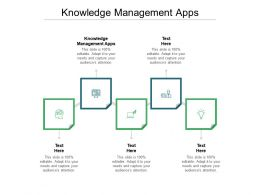 Knowledge Management Apps Ppt Powerpoint Presentation Summary Background Images Cpb