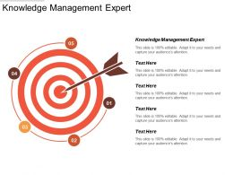 Knowledge Management Expert Ppt Powerpoint Presentation Icon Deck Cpb