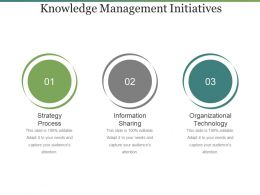 Knowledge Management Initiatives Ppt Example