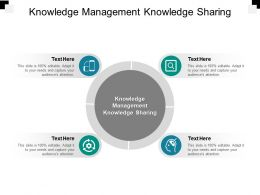Knowledge Management Knowledge Sharing Ppt Powerpoint Presentation Pictures Topics Cpb