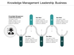 Knowledge Management Leadership Business Ppt Powerpoint Presentation Icon Gridlines Cpb