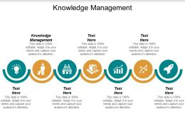 Knowledge Management Ppt Powerpoint Presentation Pictures Guidelines Cpb