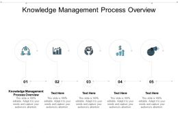 Knowledge Management Process Overview Ppt Powerpoint Presentation Model Graphics Cpb