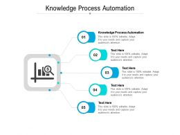 Knowledge Process Automation Ppt Powerpoint Presentation Slides Sample Cpb